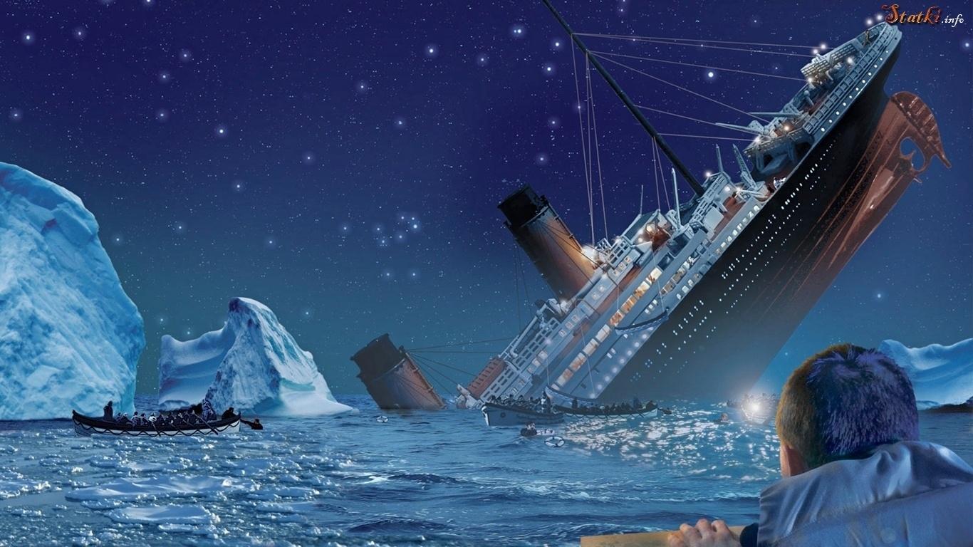 statek-morze-rozbitkowie-lodowa-gora-titanic